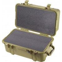 Кейс Pelican 1460 Protector Case с поропластом зеленый 1460-000-130