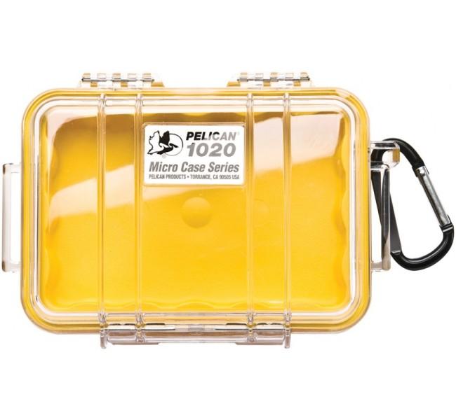 Peli Box Pelibox /'Microcase 1020/' Yellow