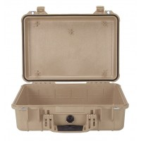 Кейс Pelican 1500 Protector Case без поропласта коричневый 1500-001-190