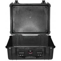 Кейс Pelican 1550 Protector Case без поропласта черный 1550-001-110