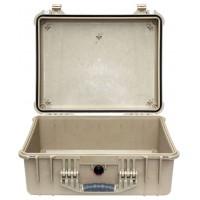 Кейс Pelican 1550 Protector Case без поропласта коричневый 1550-001-190
