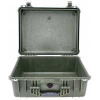 Кейс Pelican 1550 Protector Case без поропласта зеленый 1550-001-130