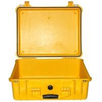 Кейс Pelican 1550 Protector Case без поропласта желтый 1550-001-240