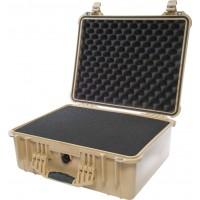 Кейс Pelican 1550 Protector Case с поропластом коричневый 1550-000-190