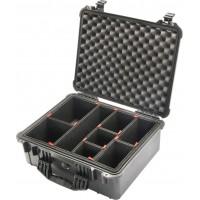 Кейс Pelican 1550 Protector Case с перегородками TrekPak черный  1550TP