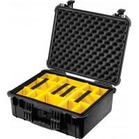 Кейс Pelican 1554 Protector Case с мягкими перегородками черный 1550-004-110