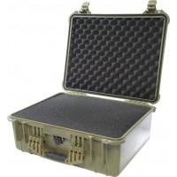 Кейс Pelican 1550 Protector Case с поропластом зеленый 1550-000-130
