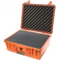 Кейс Pelican 1550 Protector Case с поропластом оранжевый 1550-000-150