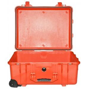 Кейс Pelican 1560 Protector Case без поропласта оранжевый 1560-001-150
