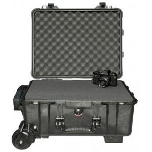 Кейс Pelican 1560M Protector Mobility Case с усиленной колесной базой с поропластом черный 015600-0009-110