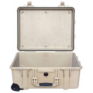 Кейс Pelican 1560 Protector Case без поропласта коричневый 1560-001-190
