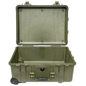 Кейс Pelican 1560 Protector Case без поропласта зеленый 1560-001-130
