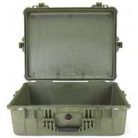 Кейс Pelican 1600 Protector Case без поропласта зеленый 1600-001-130