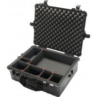 Кейс Pelican 1600 Protector Case с перегородками TrekPak черный 1600TP