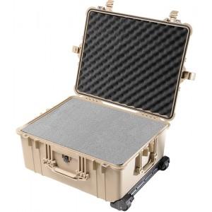 Кейс Pelican 1610 Protector Case с поропластом коричневый 1610-000-190