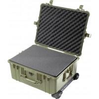 Кейс Pelican 1610 Protector Case с поропластом зеленый 1610-000-130