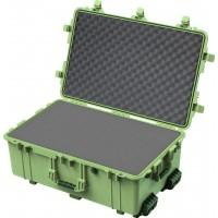 Кейс Pelican 1650 Protector Case с поропластом зеленый 1650-020-130