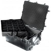 Кейс Pelican 1694 Protector Transport Case с мягкими перегородками черный 1690-004-110