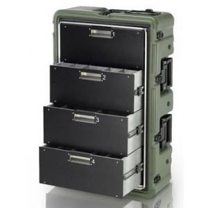 Транспортный кейс-медицинский шкаф Pelican Hardigg MEDCHEST MC4100