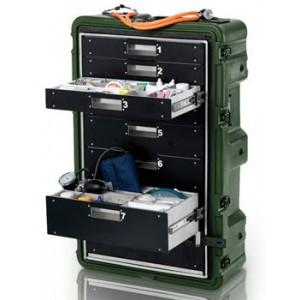 Транспортный кейс-медицинский шкаф Pelican Hardigg MEDCHEST MC8100
