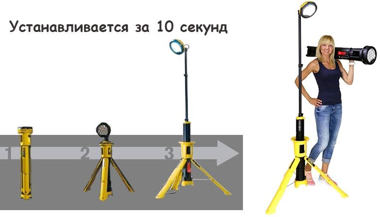 Мобильная осветительная система Pelican RALS BAZOOKA 9440 094400-0001-245E