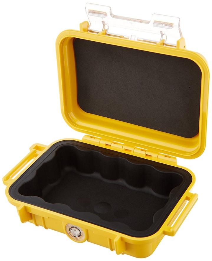 Защитный кейс Pelican 1010 Micro Case желтый 1010-025-240E
