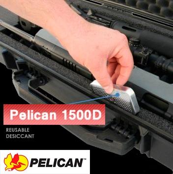 Осушитель силикагель Pelican 1500D