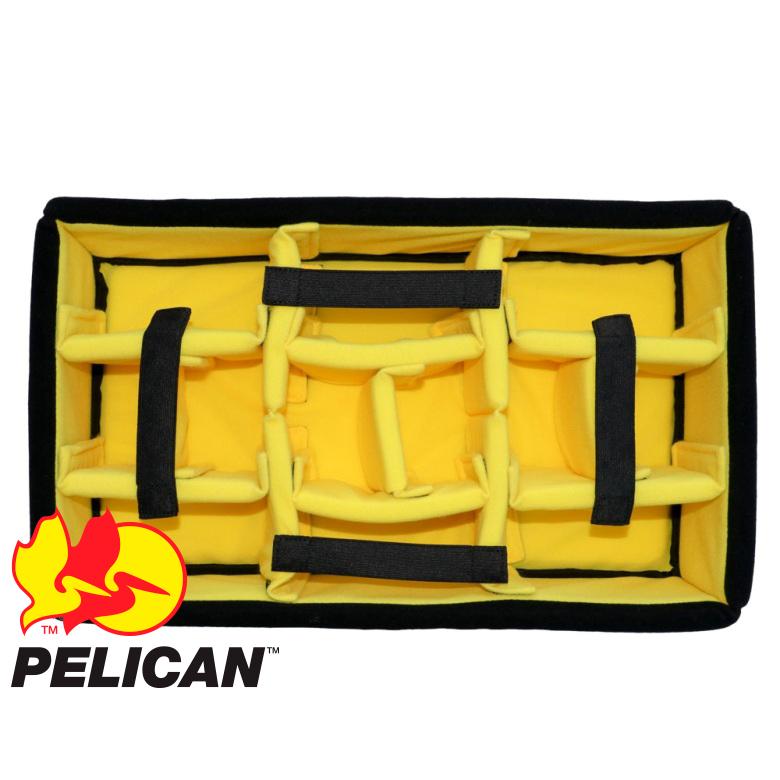 Кейс Pelican Air 1485 мягкие перегородки черный
