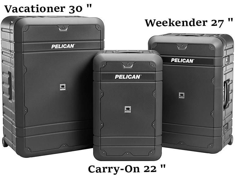 Защитный чемодан Pelican Elite Luggage