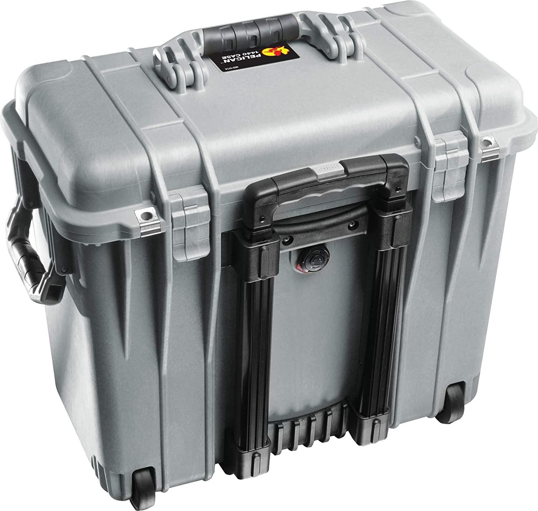 Кейс Pelican 1440 Protector Top Loader Case без поропласта серебро 1440-001-180E