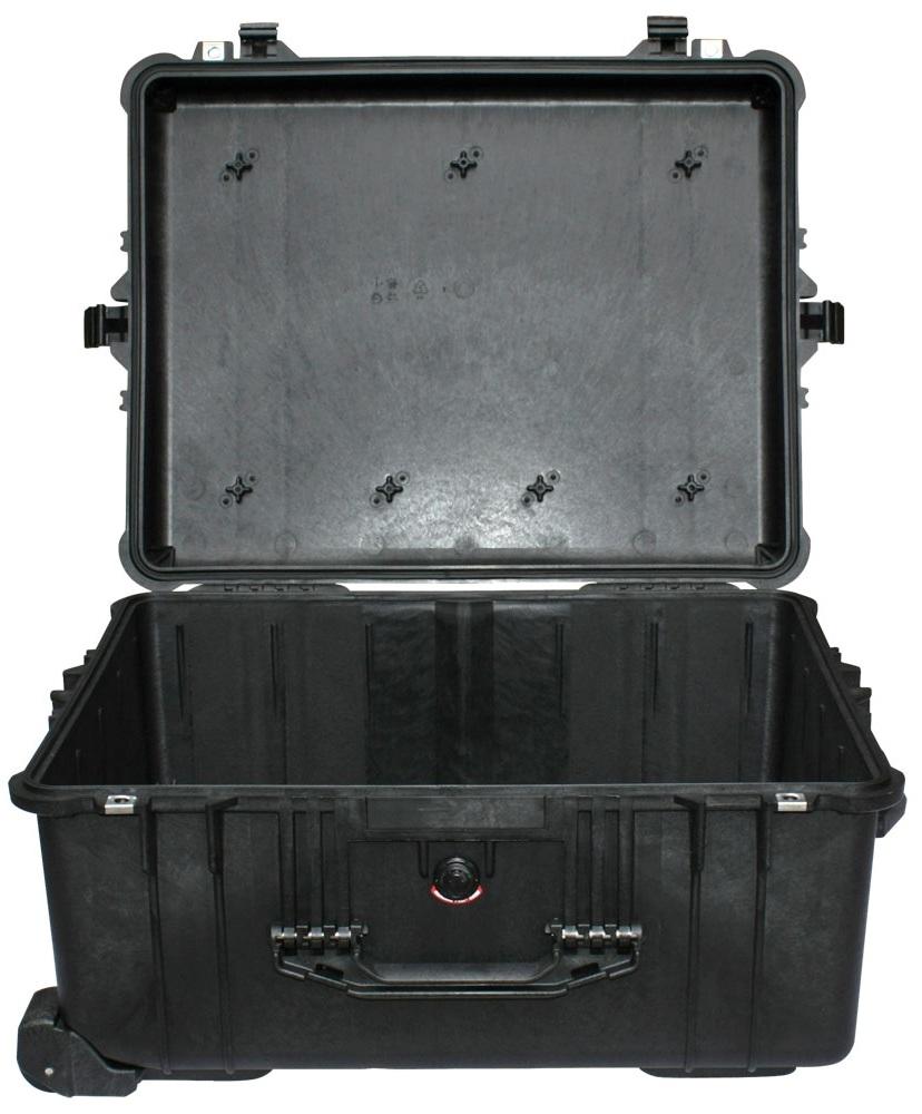 Защитный кейс Pelican большого размера модель Pelican 1610 Protector Case без поропласта черный 1610-001-110E